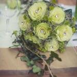 Svatební kytice-zelená 1Kč