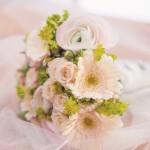 Svatební kytice-růžová 950 Kč