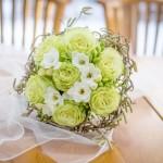Svatební kytice-zelená 700 Kč
